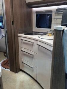 Dethleffs Esprit T7150 Küche