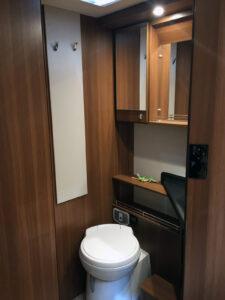 LMC Cruiser Comfort T742 Toilette