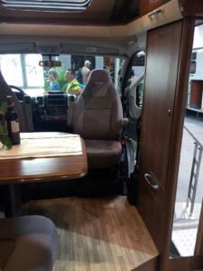LMC Cruiser Comfort T742 Pilotensitze