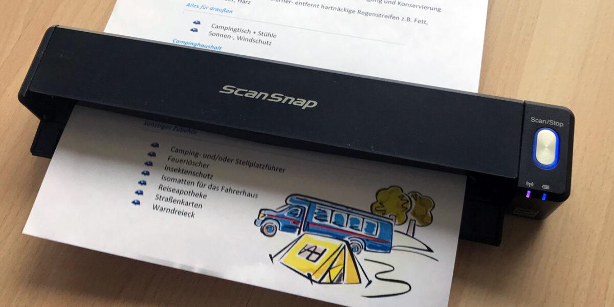 Scan-to-Cloud - Snapscan Fujitsu