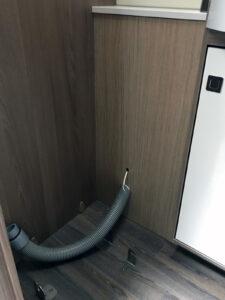 Abluftschlauch Komposttoilette