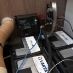 Aufbaubatterie & Solarladeregler