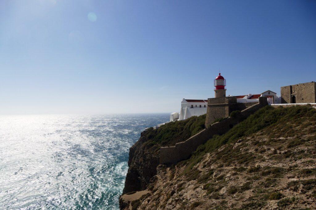 Leuchtturm am Cap von Sao Vicente