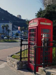Gibraltar Telefonzelle