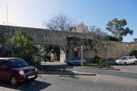 Gibraltar Stadtmauer