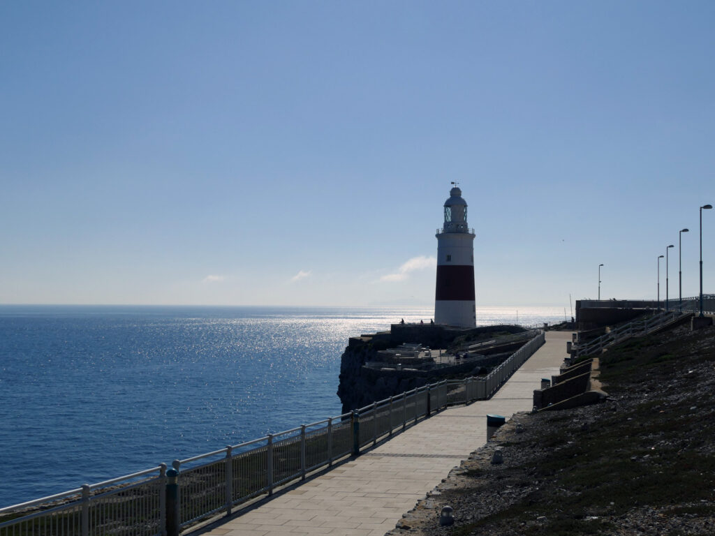 Leuchtturm Europa Point