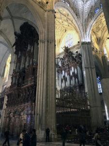 Orgel - Kathedrale von Sevilla