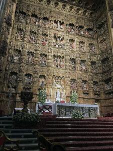 Altar - Kathedrale von Sevilla
