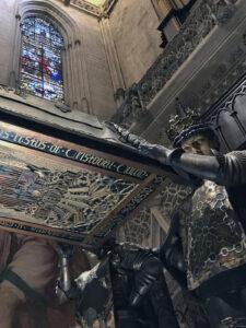 Christoph Columbus - Kathedrale von Sevilla