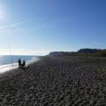 Chillen an der Andalusischen Küste