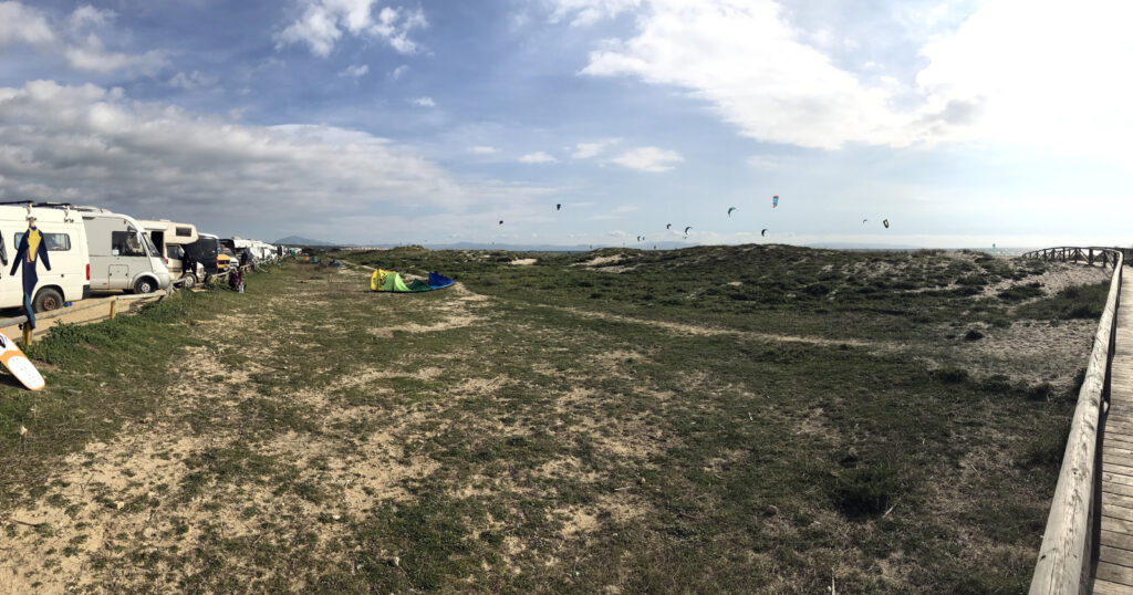 Tarifa Surferstrand