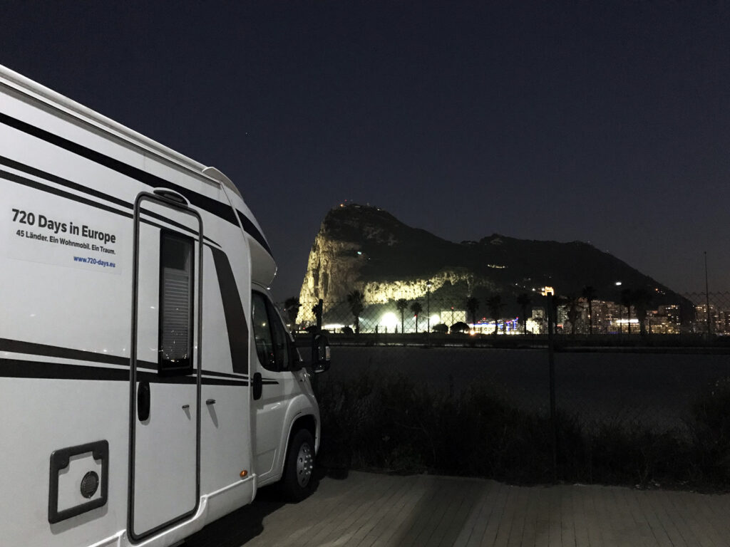Wohnmobil Stellplatz Gibraltar