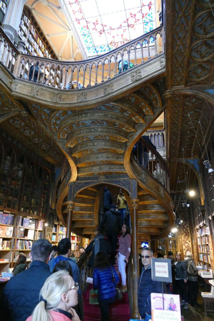 Livraria Lello Wendeltreppe