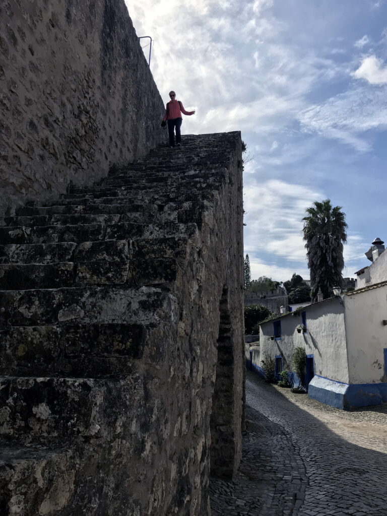 Obidos Stadtmauer