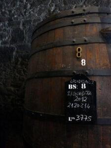 Portwein Faß