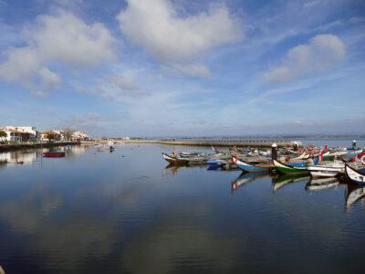 Torreira Hafen