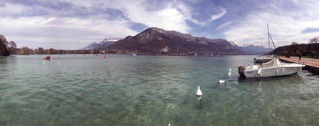 Annecy Alpenpanorama