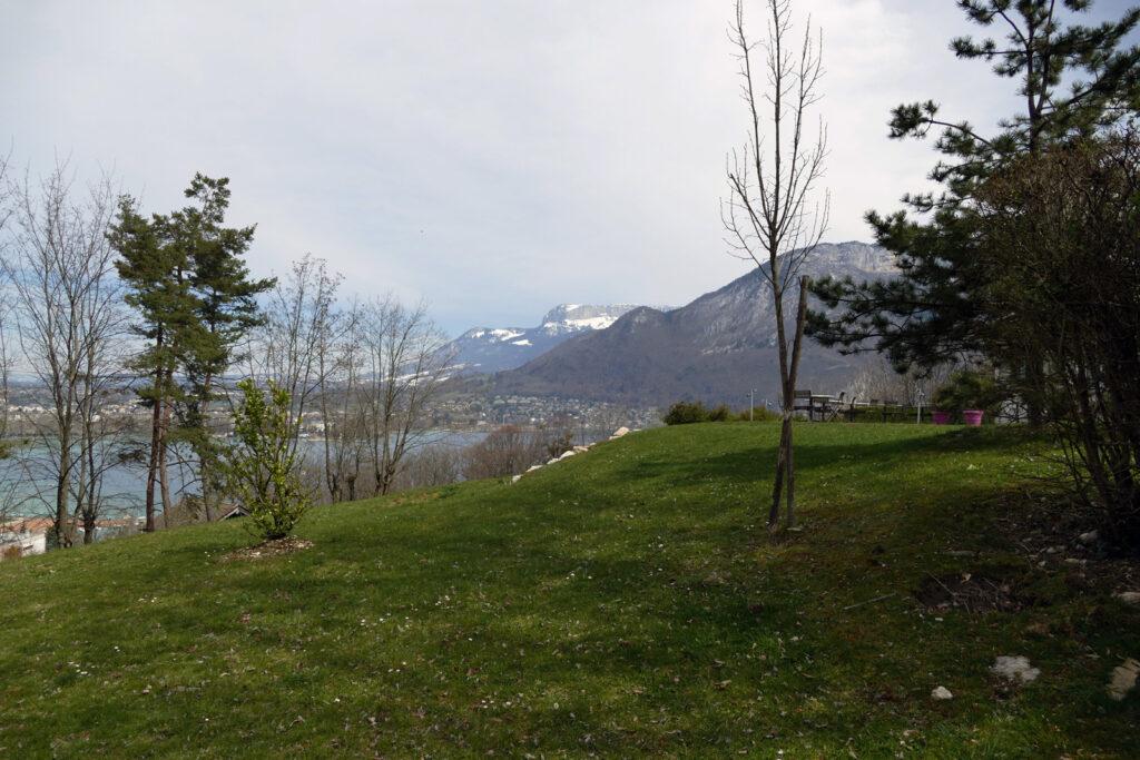 Aussicht Campingplatz Belvedere