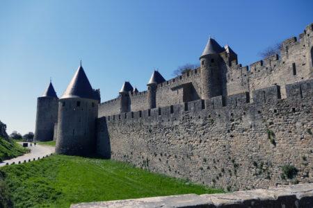 Carcassonne Stadtmauer