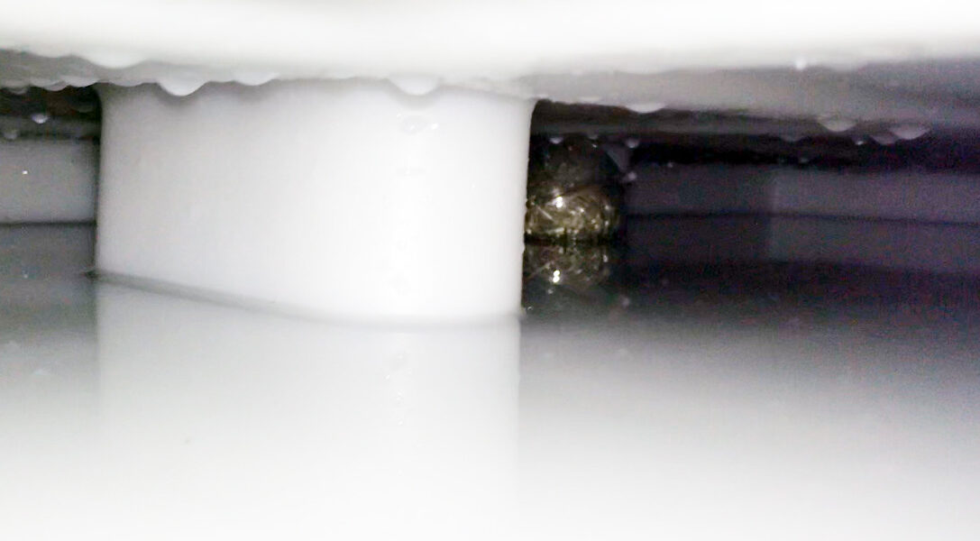 Silberkugel im Tank