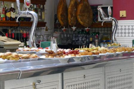 Tapas in San Sebastian