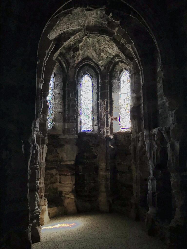 Conwy Castle Bleiglasfenster