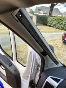 Remis Fahrerhausverdunklung Frontscheibe