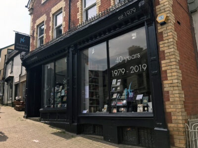 Hay-on-Wye the poetry bookshop