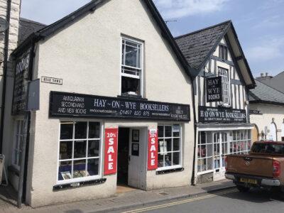 Hay-on-Wye Buchhandlung