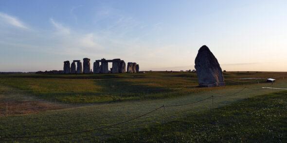 Dämmerung am Stonehenge