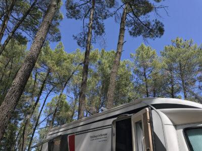 Campingplatz Pont du Gard