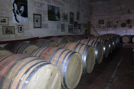 Weinverkostung Château d