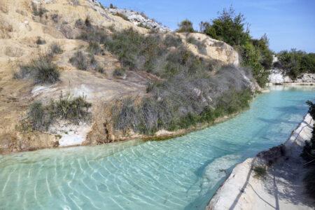 Therme bei Bagno Vignoni