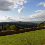 Berg-Tal-Berg in der Toskana