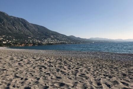 Strand von Kalamata