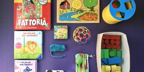 Spielzeug im Wohnmobil