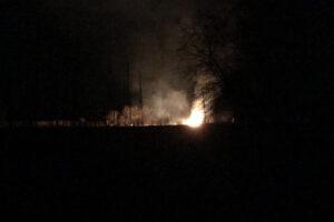 Buschfeuer in Albanien