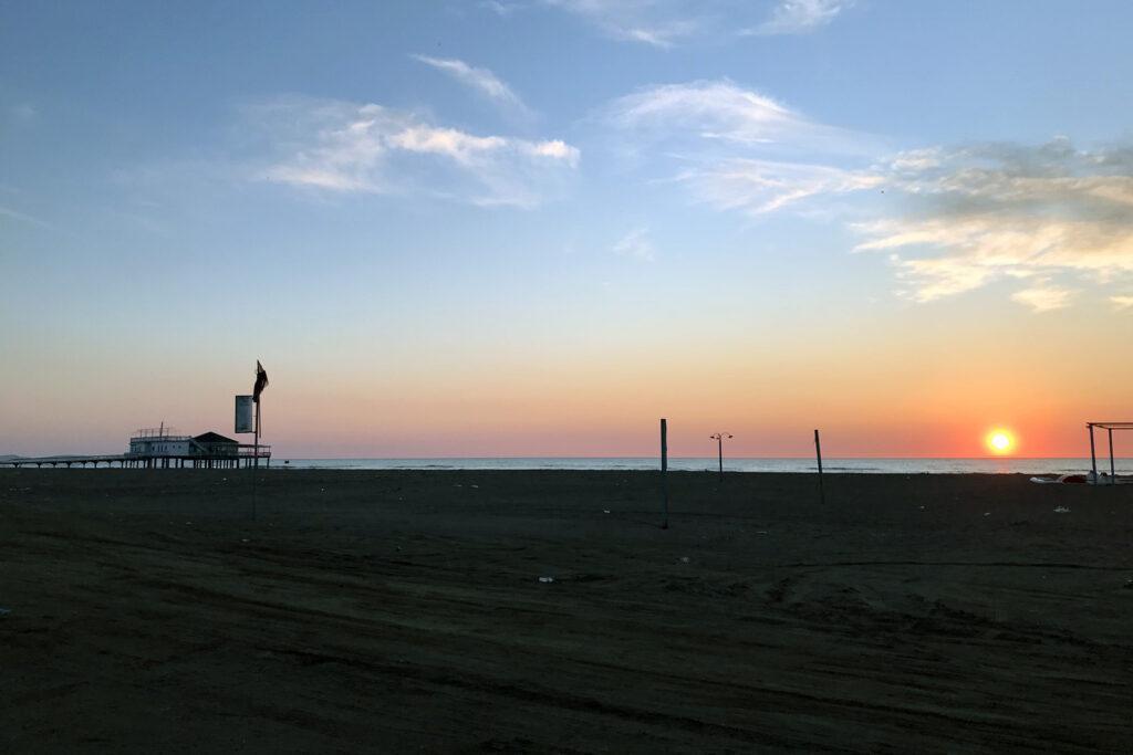 Übernachten am Strand