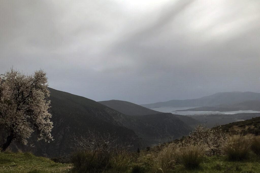 Anfahrt nach Delphi