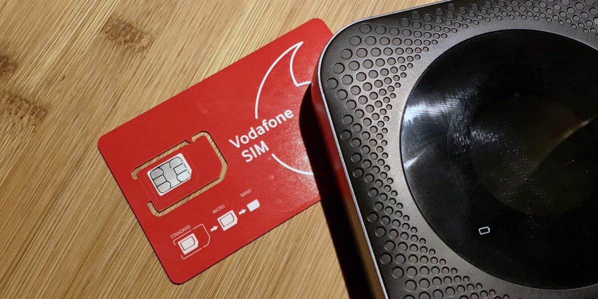 Vodafone Prepaid SIM für Albanien