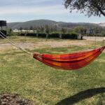 Hängematte aufhängen und relaxen