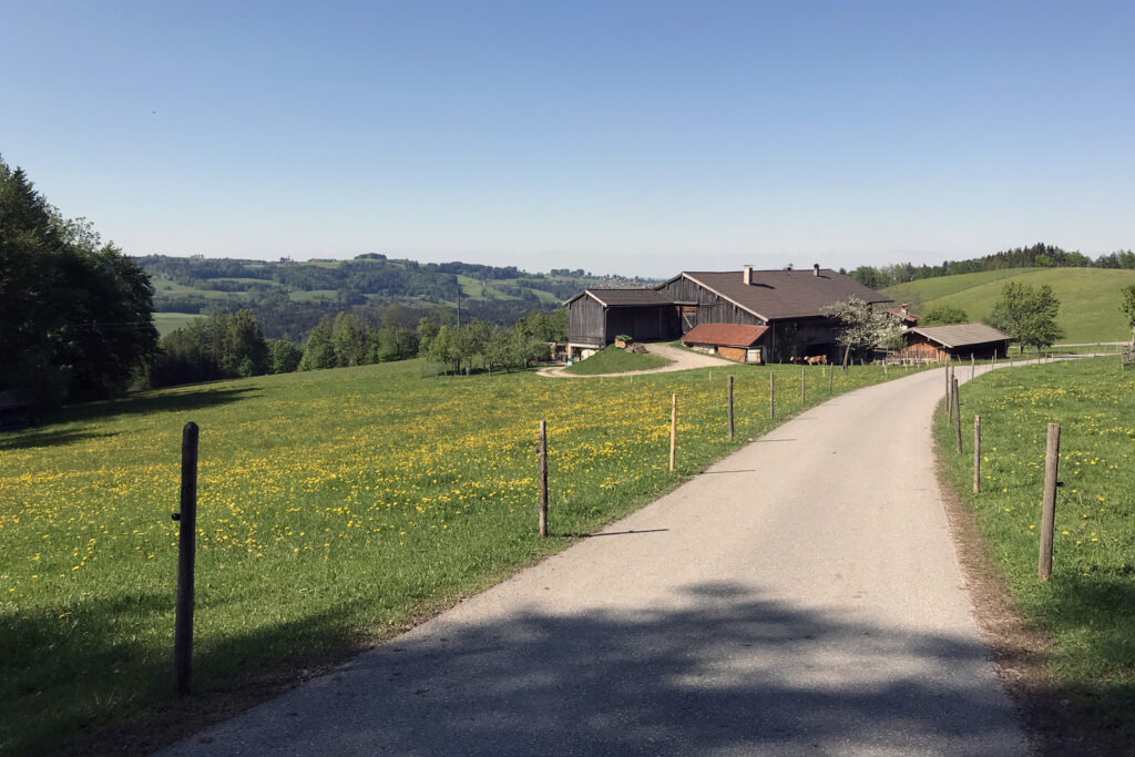 Samerberg - Wanderparkplatz Schweibern