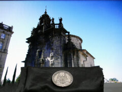 Sandiago di Compostela - Gedenkmünze