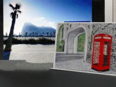 Gibraltar Postkarte